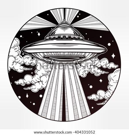 abstract fantastic alien