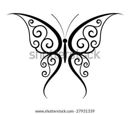 picture of butterfly tattoo. also utterflies tattoo.