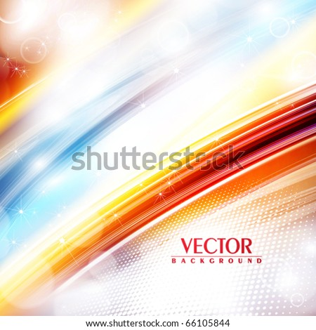 Abstract festive rainbow background. Vector