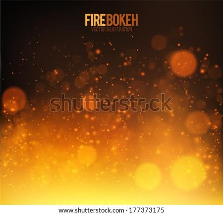 stock-vector-abstract-fire-bokeh-vector-background