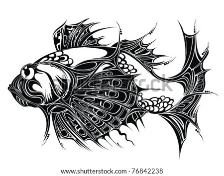 Tattoo Design Background. Tattoo design