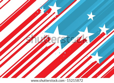 abstract flag - stock vector