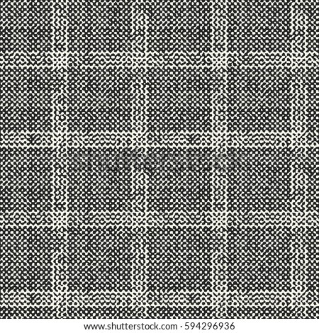 Abstract flecked subtle checked textured background. Seamless pattern.