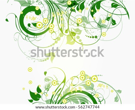 abstract floral vector background download free vector art stock