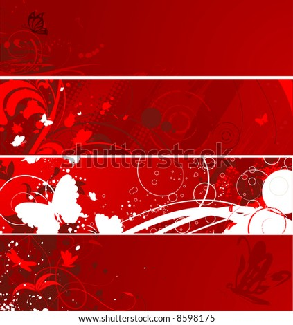 abstract floral background's