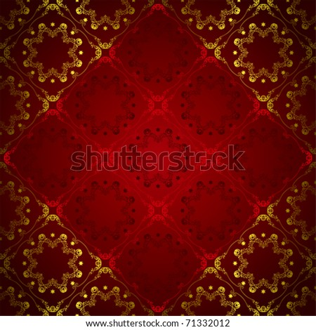 Abstract Floral Luxury Background. Illustration vector.