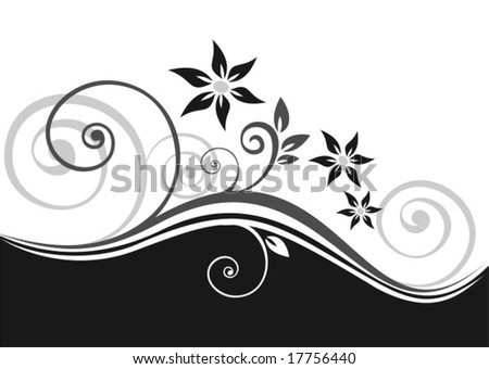 pattern background black and white. lack-and-white background