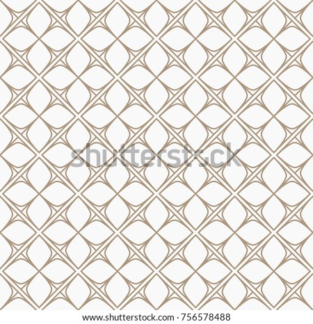 Abstract Floral Tiles Seamless Vector Pattern. Geometric texture. Repeating background.