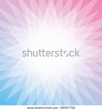 Abstract flower background in nice pastel colors, you can place text in the middle white area