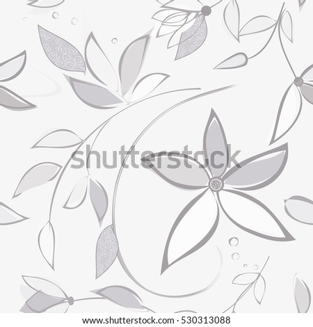 abstract flower seamless