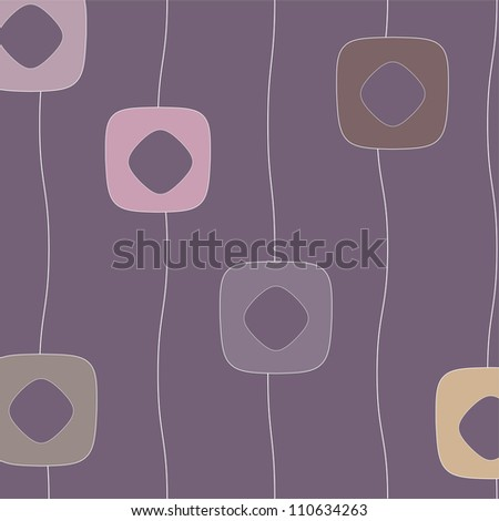abstract flowers, purple background with abstract flower, vintage vector floral background,