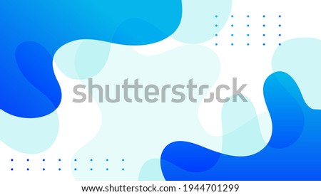 abstract fluid background with blue color