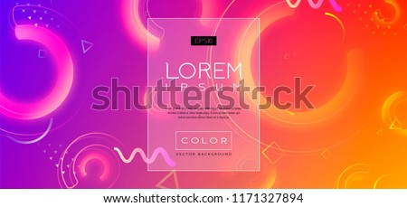 Abstract Fluid creative templates, cards, color covers set. Geometric design, liquids, shapes. Trendy vector collection. Pastel and neon design, geometric fluid graphic shape, vector background.
