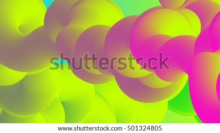 abstract fluorescent colors