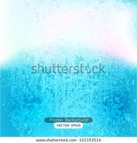 abstract frozen background