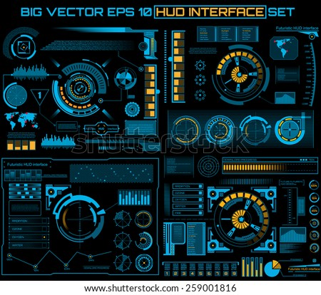abstract future  concept vector