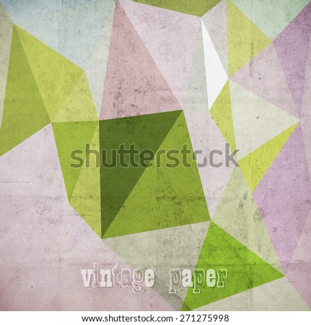 abstract futuristic art background,  vector grunge paper texture - Shutterstock ID 271275998
