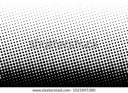 abstract futuristic halftone