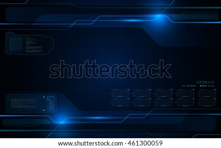 abstract futuristic interactive computing screen design tech innovation concept background