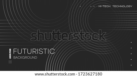 abstract futuristic technology