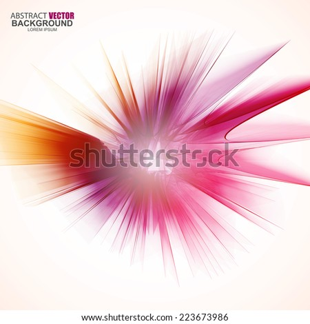 Stock Photo Abstract futuristic wavy background
