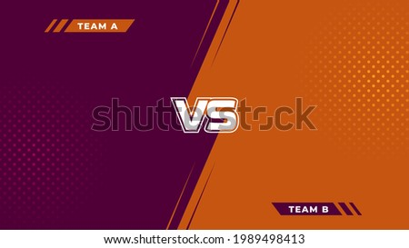 Abstract gaming background design with modern minimalist style. Classic combat background Сток-фото ©
