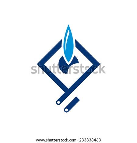 Gazprom logo Free Vector / 4Vector: 4vector.com/free-vector/gazprom-logo-91537