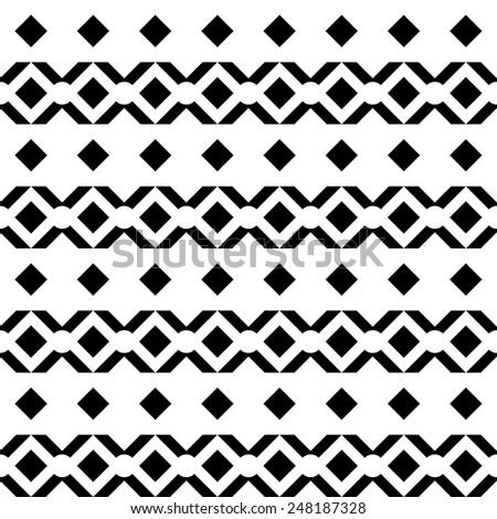 abstract geometric aztec
