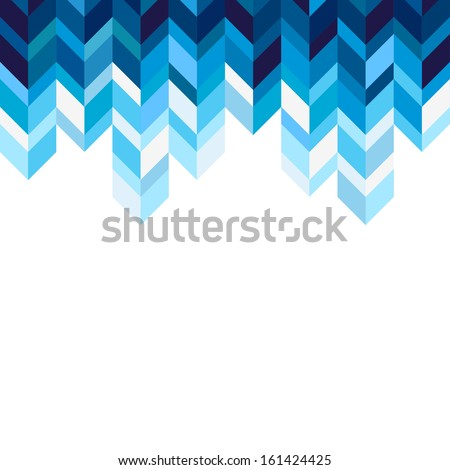 Abstract, geometric background, blue, spectrum