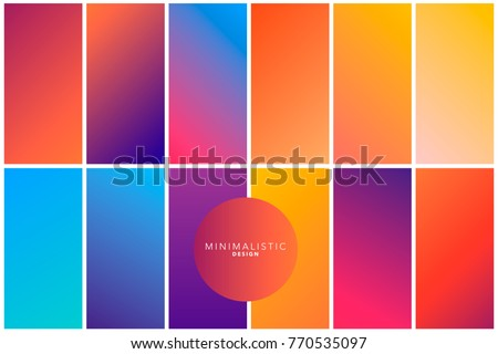 Abstract geometric background in gradient tones/ Colorful bright backgrounds.