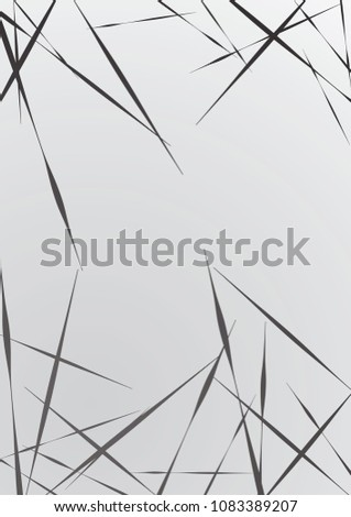 Abstract geometric background. Installed isolated lines. The effect of motion for your design. Black lines on a white background.Dinamic lines or rays.Vector.EPS10