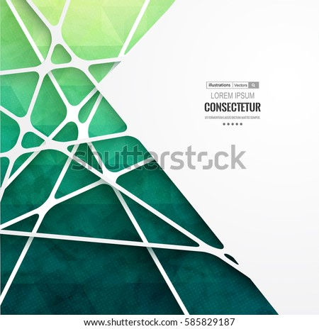 stock-vector-abstract-geometric-background-with-polygons-info-graphics-composition-with-geometric-shapes-retro