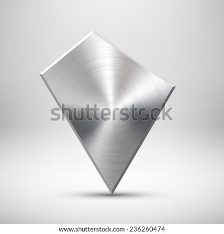 abstract geometric badge  blank