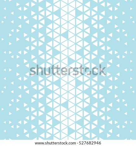 Abstract geometric blue graphic design triangle pattern