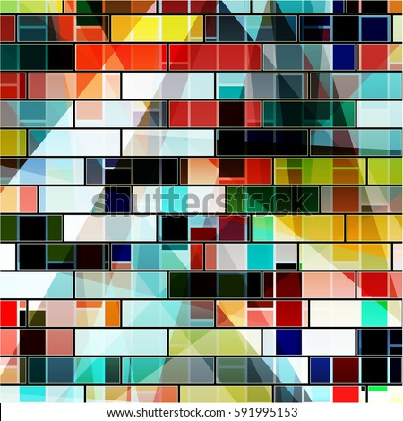 abstract geometric bright background #591995153