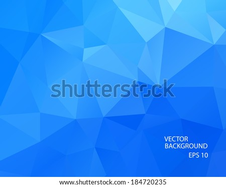 stock-vector-abstract-geometric-cool-blue-background-of-triangular-polygons-vector-illustration-retro-mosaic