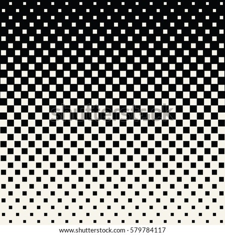 Abstract geometric hipster fashion halftone square pattern