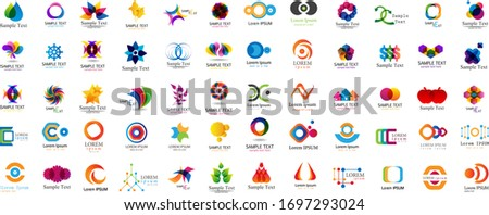 abstract geometric logo and