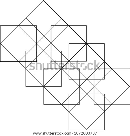 Abstract Geometric Pattern #1072803737