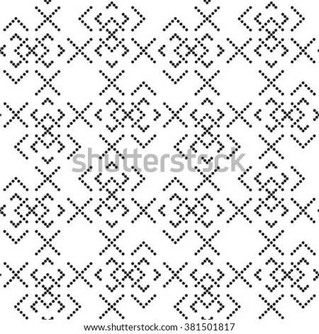 abstract geometric pattern a