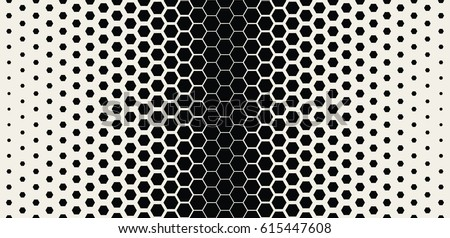 Abstract Geometric Pattern. Hipster Fashion Design Print Hexagonal Pattern. Vector Illustration.