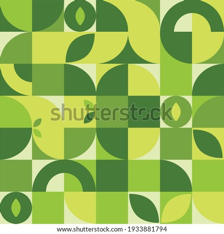 Abstract geometric pattern in a modern style. Vector illustration.