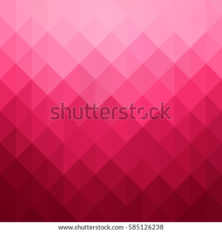 Abstract geometric pattern. Pink triangles background. Vector illustration eps 10.