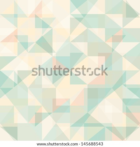 Abstract geometric pattern vector wallpaper