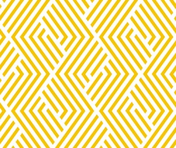 Abstract geometric pattern with lines, rhombuses A seamless background. Yellow, gold texture. Graphic modern pattern