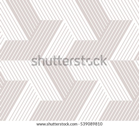 Abstract geometric pattern with lines, stripes. A seamless vector background. Gray and white texture. Graphic modern pattern.