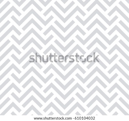 Abstract geometric pattern with stripes, lines. A seamless vector background. Grey and white texture