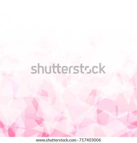 Abstract geometric pink color blending weird texture background vector.