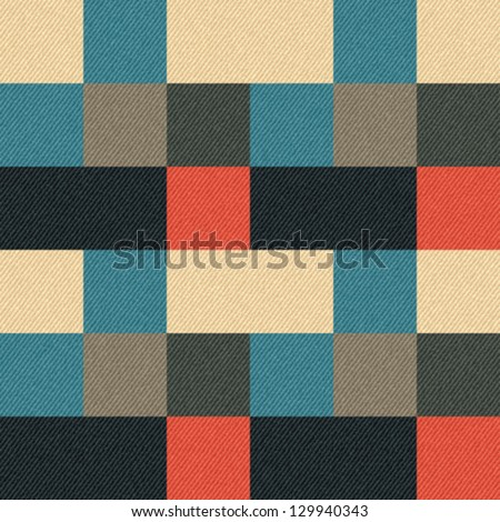 abstract geometric print on...