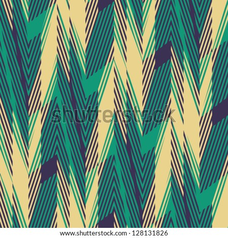Abstract geometric print Seamless pattern Vector